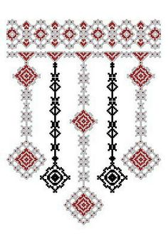 This post was discovered by Марія Суряк. Discover (and save!) your own Posts on Unirazi. Creative Embroidery, Folk Embroidery, Beaded Embroidery, Cross Stitch Embroidery, Embroidery Patterns, Sewing Patterns, Cross Stitch Borders, Cross Stitch Rose, Cross Stitch Designs