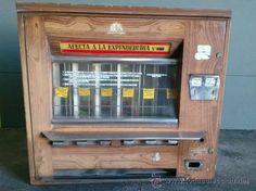 Expendedor de tabaco, años 80.