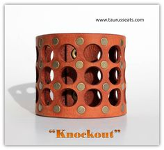 Leather bracelet woman - Brown leather bracelet cuff - Womens leather wristband…