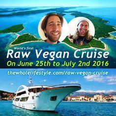 Free ticket to the Raw Vegan Cruise