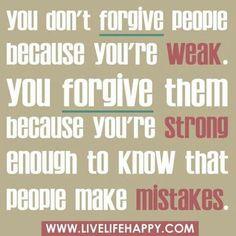 Teruggeven en vergeven is wat anders dan toegeven en opgeven...