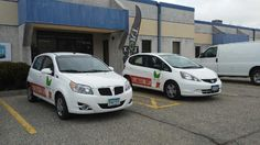 Two is better than one when it comes to fleet graphics and more exposure for your business!