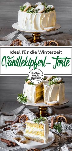 If you are looking for a delicious cake for Christmas and the winter time in general, .-Wer eine leckere Torte fr Weihnachten und die Winterzeit im allgemeinen sucht, s… Whoever has a delicious cake for Christmas and winter … - Vegan Chocolate, Chocolate Chip Cookies, Vanilla Biscuits, Cookie Recipes, Dessert Recipes, Biscuit Cake, Cupcakes, Croissant, Party Desserts