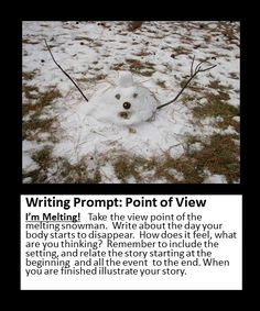 Point of view writing prompt journal 6th Grade Writing, Writing Classes, Writing Lessons, Writing Workshop, Kids Writing, Teaching Writing, Writing Activities, Writing Services, Photo Writing Prompts