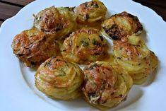 Finger Food Appetizers, Finger Foods, Appetizer Recipes, Greek Recipes, Vegan Recipes, Cooking Recipes, Easy Cooking, Cooking Time, Potato Recipes