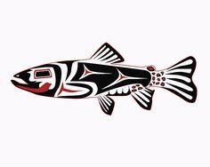 Haida Trout by Rob Tullis