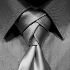 Eldredge Knot for your Necktie -   How to Video