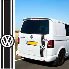 784439f218 VW Transporter Camper Van Caravelle Stripes Graphics Decals Stickers T4 T5  Caddy