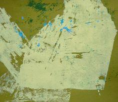 Ian MacLeod ::  'Untitled' -  2015 -  Acrylic, pumice gel and glue on paper.