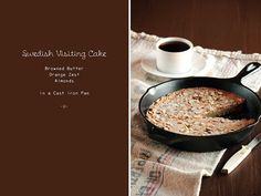 Swedish Visiting Cake by pastry affair - I love to try anything made in a cast iron skillet.
