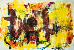 Acrylic on Paper | 70 x 100 cm | 2016