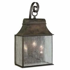 World Imports Revere Exterior Wall Lantern 3 - Light - 60W (C) - 61313-06