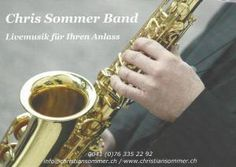 Chris Sommer Band Blues, Swing, Rock'n Roll, Pop