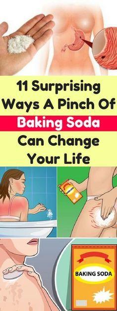 Every Woman Should Know These 10 Tricks with Baking Soda! #bakingsoda #tricks #woman #beauty #hair #skin #remedies #Usesofsoda #beautytricks #diy