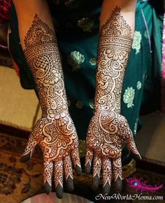 This awesome henna artist shows off her skills for our annual mehndi contest!
