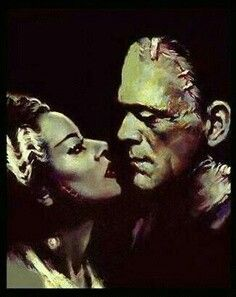 Frankenstein and bride love