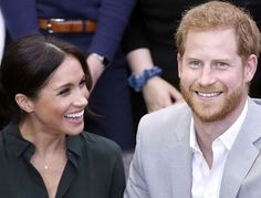 On Wednesday, the Duke and Duchess of Sussex had their first joint visit to Sussex, and it turned out to be a huge success. Of course, Meghan Markle and Prince Harry showcased PDA in Sussex, because that's just who they are as a couple. Meghan Markle Prince Harry, Prince Harry And Meghan, Duke And Duchess, Duchess Of Cambridge, Baby Due, Royal Babies, Expecting Baby, Dog Names, Queen Elizabeth Ii
