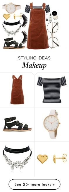 """""""Dress// ✌"""" by eva-l118 on Polyvore featuring Bobbi Brown Cosmetics, Miss Selfridge, Dorothy Perkins, H by Hudson and WithChic"""