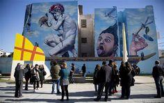 Arte callejero en Villa Urquiza - 15.08.2013 - lanacion.com