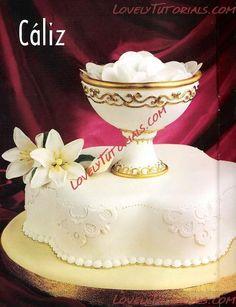 МК торт на крестины -christening cake tutorial - Мастер-классы по украшению тортов Cake Decorating Tutorials (How To's) Tortas Paso a Paso
