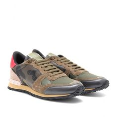 mytheresa.com - Valentino - CAMOUFLAGE SNEAKERS - Luxury Fashion for Women / Designer clothing, shoes, bags