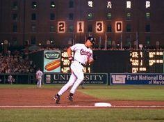 Cal Ripken Jr. #8 - Baltimore Orioles  My all-time favorite baseball player