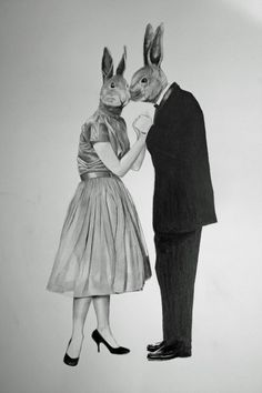 "Saatchi Online Artist: Lee Boyd; Graphite, 2011, Drawing ""What they do best"""