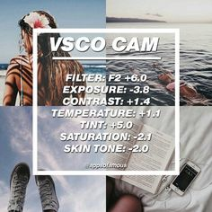 #VSCO FILTERS #FREE FILTER!! ☕ | Best used on: almost anything. ☄ | Great for a #blue #theme