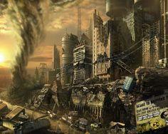 City Ruins border