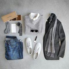 Combinación gris