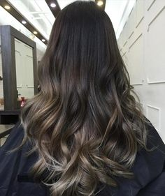 Red and Black Hair: Ombre, Balayage & Highlights - Style My Hairs Black Hair Ombre, Honey Blonde Hair Color, Blonde Streaks, Black Hair With Highlights, Honey Hair, Hair Highlights, Blonde Color, Ombre Hair, Warm Brown Hair