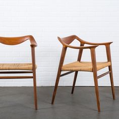 "20cmodern:  ""Pair of Bambi Chairs by Rolf Rastad & Adolf Relling for Gustav Bahus $3500"