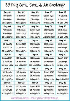 Samantha Gibson's Jan workout challenge