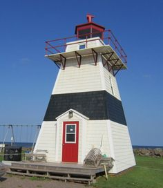 Judes Point Light, Tignish, Western Prince Edward Island, Canada, September 2011 Panoramio Creative Commons photo by Bob Linsdell