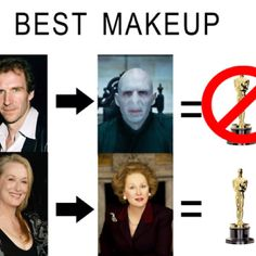 Seriously. Now I think the awards are rigged. Thanks.