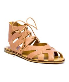 Look at this Latigo Cocoa Barista Leather Sandal on #zulily today!