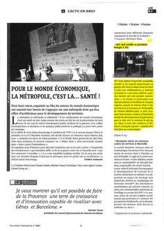 SFC Sud souffle sa première bougie à Aix, Les nouvelles publications, 5 février 2016.