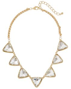 Stella & Ruby 14K Plated Crystal Necklace is on Rue. Shop it now.