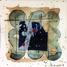 Cesare Saccenti Watercolor Ink