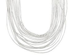 Southwest Style By Jtv(Tm) Liquid Sterling Silver Graduated Multi-strand Necklace