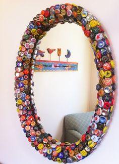 20 manualidades con chapas creativas y geniales.   #manualidades #DIY #creatividad #chapas
