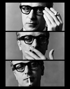 Michael Caine, 1965. Photographer: David Bailey.