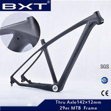 Baratos chineses utilizados corridas de bicicletas mountain bike 29 mtb quadro de carbono 29er bicicleta quadro cyclocross quadro da bicicleta frete grátis(China (Mainland))