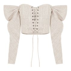 Designer Clothes, Shoes & Bags for Women Teen Fashion Outfits, Classy Outfits, Cool Outfits, Corset Tops, Lace Corset, Quirky Fashion, 90s Fashion, Fashion Trends, Linen Tops