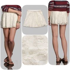 Abercrombie lace skirt S never worn,very pretty material with gold glitter on it,❌NO TRADE‼️ Abercrombie & Fitch Skirts