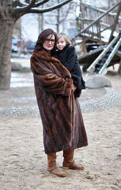 Hauptstadtmutti / Stylish Mom / Sportlerin mit dickem Fell