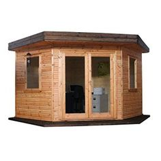 The concept of working from home canbecome a reality with a top quality home office log cabin. Each log cabin is made from highly durable interlocking tongue and groove construction and is fully insulated, for even the coldest of winter days. For many of us, the benefits of working from home are often overshadowed by being unable to create effective working spaces within the home, However, a Home office log cabin is a stylish and contemporary addition to even the smallest of gardens. All…