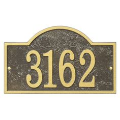 Fast & Easy Arch House Numbers Plaque - FEA1