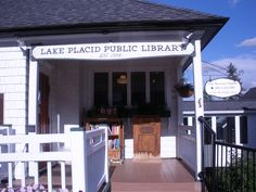 Lake Placid Public Library, Lake Placid, New York, USA