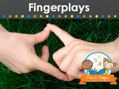 Fingerplays for your preschool or pre-k classroom